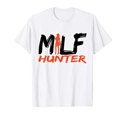 Mens Milf Hunter T-Shirt (Milf Hunter Best Of)