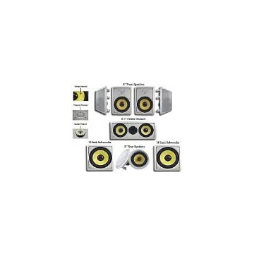 Image of Acoustic Audio HD728 in-Wall/Ceiling Home Theater 7.2 Surround 8' Speaker System Speakers