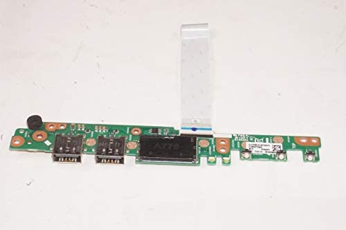 FMB-I Compatible with 60NB0G60-I01010 Replacement for Asus Power Button Board USB Card Reader