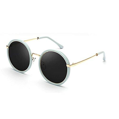 Metal HOME Reflexivo Ultraligero Movimiento Polarizado 5 UV400 Espejo de Sol Color de Avant Personalidad Decorativo Gafas Vintage QZ 5 Anti Playa Luz Garde vY8qdT7Sd