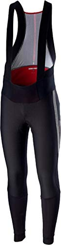 - Castelli Sorpasso 2 Wind Bib Tight - Men's Black/Reflex, M