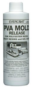 Pva Mold Release - Evercoat 5685 PVA MOLD RELEASE - Pack of 1