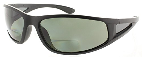 Fiore Oceanside Polarized Bifocal Sunglasses Readers Invisible - Fishing Bifocals Sunglasses With