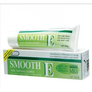 Smooth E Cream Anti-aging Wrinkle Fade Acne Scars Spots 40g. (Best Novels To Read During Pregnancy)