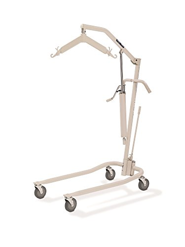 Invacare 9805P Personal Hydraulic Patient Body Lift Kit with Full Body Mesh Sling (Medium with Commode Opening R114)