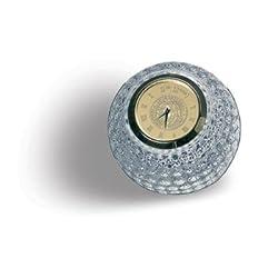 Georgia Tech Yellow Jackets Crystal Golf Ball Clock - Gold