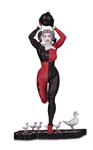 DC Collectibles Harley Quinn: Red, White & Black: Harley Quinn by Frank Cho Statue