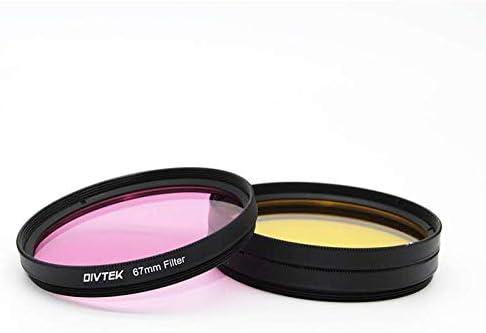 DIVTEK Digital Filter Kit Magenta Magenta 67 mm, Zirkular-Polarisator, mehrbest/ändige Nanobeschichtung