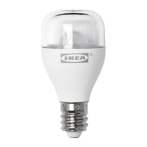 IKEA Ryet 703.655.53 LED Sign Bulb E12 100 Lumen Clear