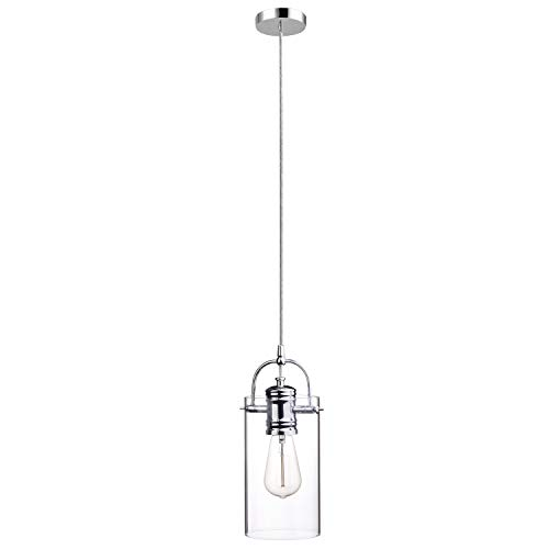 Globe Electric 65714 Pendant Lighting, Chrome