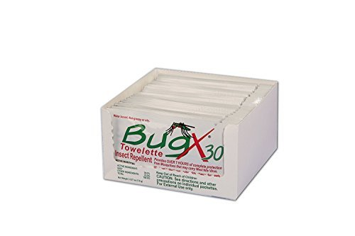 Bug X Insect Repellent Towelette, 2 Pack by Unimed-Midwest, Inc.
