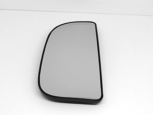 10-14 Ram 1500, 2500, 3500, 4500 Left Driver Convex Lower Flip Up Tow Mirror Glass w/ Rear Mounting Bracket OE - 2500 Replacement Mirrors