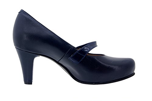 Scarpe donna comfort pelle Piesanto 5227 scarpe di sera comfort larghezza speciale