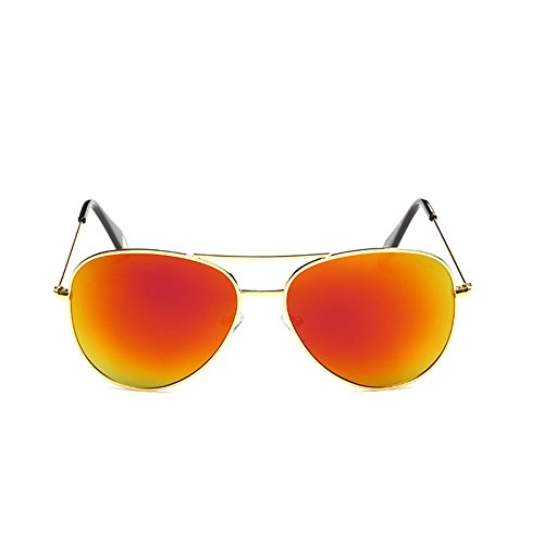 Gafas Personalidad Mujer Color Sol F Retro F Película Polarizada Gafas Gafas Box Color de Mirror Big Gafas Sol Victoria de de Sol de ZwOnzq