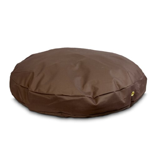 Snoozer Waterproof Round Pet Bed, Small, Brown, 36-Inch