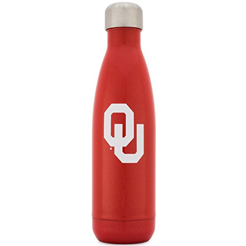 Simple Modern University Collegiate 17oz Wave Water Bottle Oklahoma