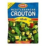 Osem Mediterranean Crouton Herbs 5.25 Oz. Pack Of 12.