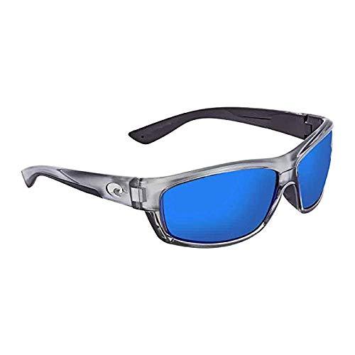 Fishing Sunglasses Silver Mirror Lenses - Costa Del Mar Saltbreak 580G Saltbreak, Silver Blue Mirror, Blue Mirror