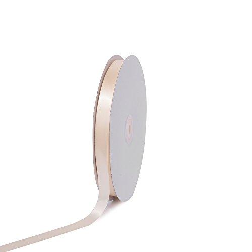 Creative Ideas PSF0508-810 Solid Satin Ribbon, Ivory, 5/8