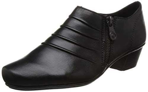 Cut Black Fastening Zip Shoes Womens Rieker Karla High fqxSwfBZ