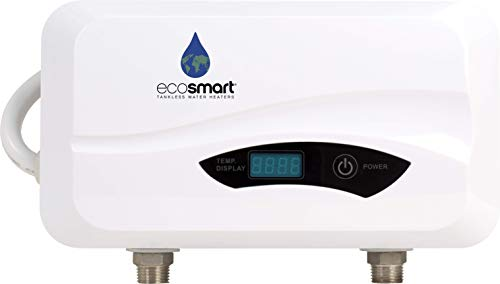 - Ecosmart POU 3.5 Point of Use Electric Tankless Water Heater, 3.5KW@120-Volt