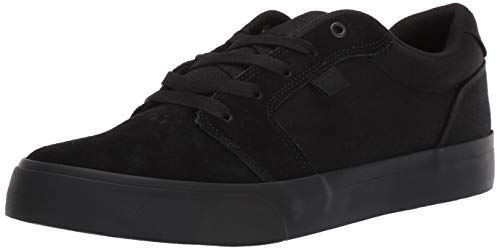 (DC Men's Anvil TX SE Skate Shoe Black, 13 M US)
