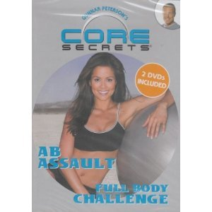 Gunnar Peterson's CORE SECRETS 2 DVD SET: FULL BODY CHALLENGE + AB ASSAULT with Brooke Burke (Assault Body Full)