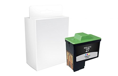 Recreated Cartridges Lexmark T0530, 10N0026, 10N0227 | Tri-Color Inkjet Cartridge 275 Pages for Dell 720; A920 (Series 1); Lexmark Multifunction (10n0026 Ink)
