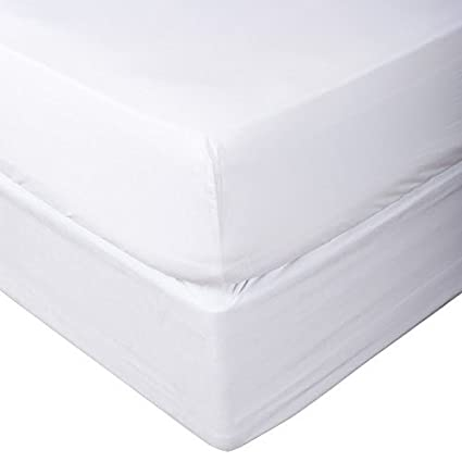 Full, White Bottom Sheet Only Fits Upto 15 inches Deep Pocket 1000 Thread Count Egyptian Quality Cotton Solid Pattern 1 Piece Fitted Sheet