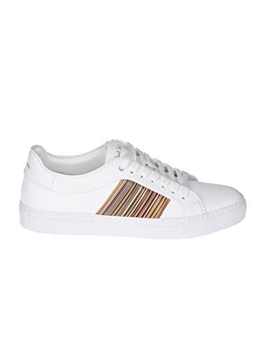 Paul Smith Mannen Suxcu043nap01 Witte Lederen Sneakers