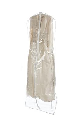 Bags for LessTM Clear Heavyduty 4.5 Mil Wedding Dress Garment Bag