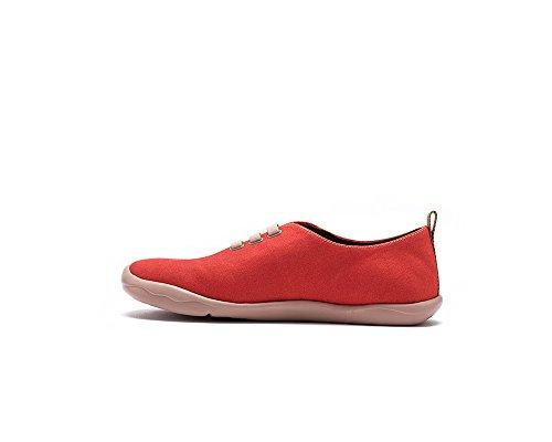 Uin Rosso Rosso Da Viaggio In Tela Color Rosso Foglia Dacero Per Uomo