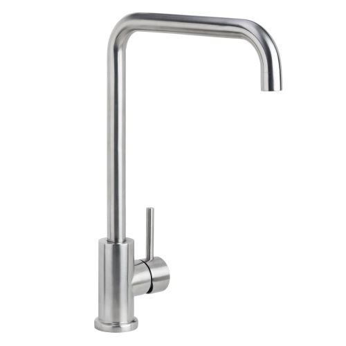 Miseno MK004 Kitchen / Prep Faucet (Solid T304 Stainless Steel), Brushed Stainless (Miseno Faucet)