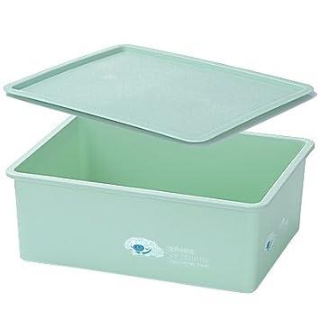 CWAIXX Calcetín cajón cajas plástico sujetador ropa interior bragas escritorio consolidación del almacenamiento de separa en cajas de almacenamiento, ...