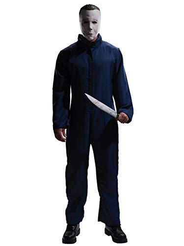 Rubie's Halloween Movie Complete Michael Myers Adult, Blue, X-Large Costume]()