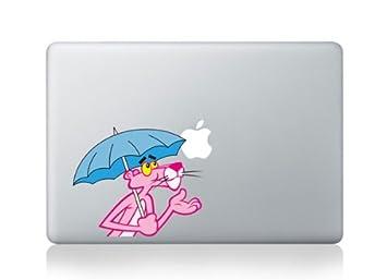 Macbook 33,02 cm de vinilo de la pantera Rosa paraguas Apple decorativo para Apple para ordenador portátil: Amazon.es: Informática