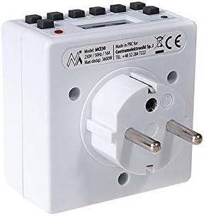 Maclean Energy MCE30 minuterie num/érique minuterie programmable