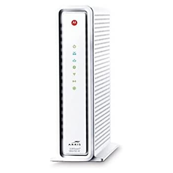 ARRIS SURFboard SBG6782AC-RB DOCSIS 3.0 Cable Modem / AC1750 Wi-Fi Router, White (Certified Refurbished)
