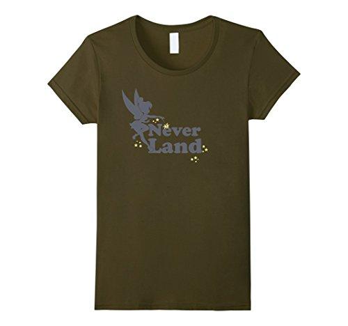 Womens Disney Peter Pan Tinker Bell Never Land Fairy Dust T-Shirt Medium (Disney Tinkerbell Fairy T-shirt)