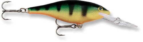 (Rapala Shad Rap 07 Fishing lure (Perch, Size- 2.75))