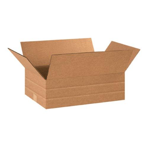 Aviditi MD18126 Multi-Depth Corrugated Box, 18