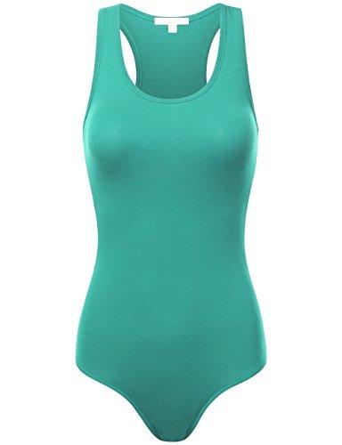 BEKTOME Womens Stretchy Bodysuit Leotard
