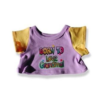 91728389b Amazon.com: Born to Love Grandma T-Shirt - 2034 Fits 15