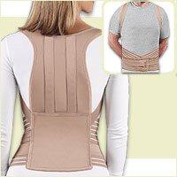 Forms Controls (Fla 16-900MDBEG Soft Form Posture Control Brace, Beige, Medium)