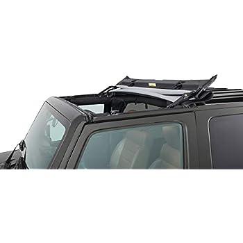3x Door Handles Tailgate Trim Inserts For 2007-2017 Jeep Wrangler JK 2 Door B S