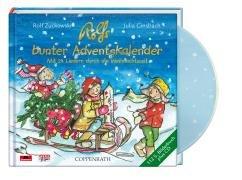 Rolfs bunter Adventskalender: Mit 24 Liedern durch die Weihnachtszeit