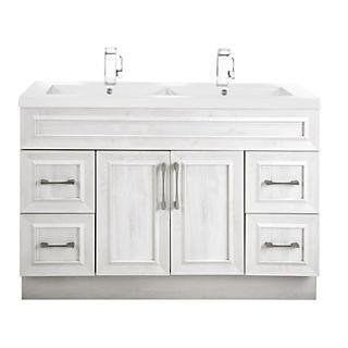 Cutler Kitchen & Bath Classic Transitional 48 in. Double Bathroom Vanity