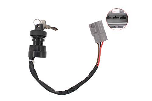 Ignition Switch w/Keys for Yamaha Grizzly 550 YFM550 660 Kodiak 400 700 700K Big Bear 400 YFM400FB ATV