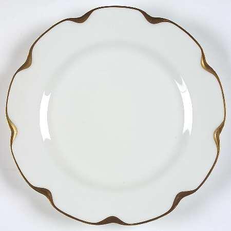 Haviland Silver Anniversary Dinner Plate - 9.75