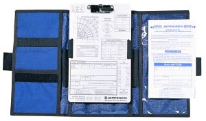 Jeppesen VFR Tri-fold Kneeboard with Clipboard JS626003 by Jeppesen